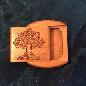 Celtic Tree Wooden Box